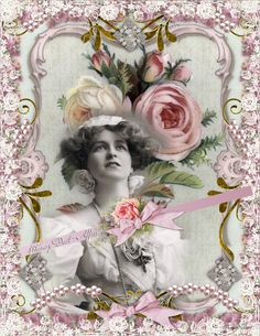 Digital collage sheet, vintage, instant download, Dreams 28, background cards tags ready to frame