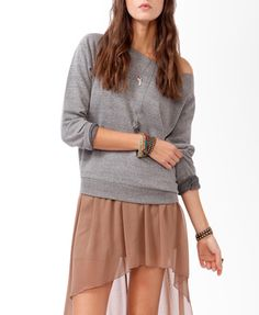 Off-The-Shoulder Pullover $14.80  http://www.forever21.com/Product/Product.aspx?BR=f21=sweater=2000050094=
