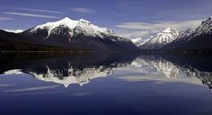 Lake McDonald, Glacier National Park. Crystal Ford, Montana, United States.