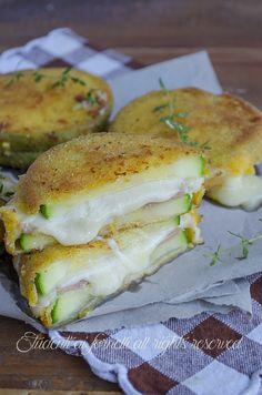cotolette di zucchine con speck e provola gustose ricetta cordon blue di zucchine fritte