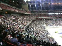 Reliant Stadium in Houston, Texas 2014 International Convention, I was there this past weekend July 4-6, 51,124 attended with 392 baptised.  Also tied in with 24 other conventions total 195,138  with 1329 baptised,  WOW