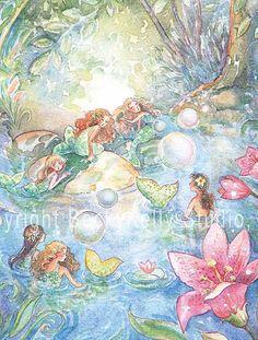 mermaids - becky kelly