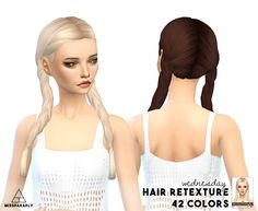 Hair retexture / WMS Wednesday / 42 colors