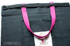 Zippered Tote Bag Tutorial