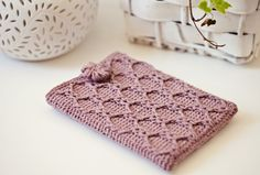 Tutorial for crochet kindle cover.