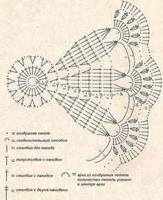 Kira scheme crochet: Scheme crochet no. 1905