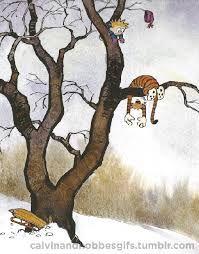 Calvin and Hobbes Gif. Calvin Y Hobbes, Calvin And Hobbes Wallpaper, Jagodibuja Comics, Bd Comics, Classic Comics, Hobbs, Comic Strips, Hayao Miyazaki, Comic Art