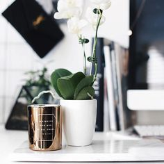 K's Inspiration Collection In-Store or Online Today. Browse Planners, Stationery & More. Discover Beautiful, Swedish Design Stationery at kikki. Home Decoracion, Desk Inspiration, Swedish Design, Beautiful Space, Dorm Decorations, Candle Making, Scented Candles, Planting Flowers, Home Accessories