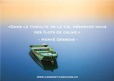 «Dans le tumulte de la vie, réservez-vous des îlots de calme.» - Hervé Desbois - . Mes moments de calme j'y accède avec une musique douce, une tasse de thé, une méditation.  . Et vous c'est quoi votre recette pour créer cet îlot de calme ?  . Deviens l'#architectedetonbonheur ! . #citation #citationdujour #quotes #quotesoftheday   #dailyquotes         #lifetips #wisdom#liveyourlife #hervedubois #calme #calm Reiki, Herve, Coaching, Movies, Movie Posters, Calm, Spiritual, Inspirational Quotes, D Day