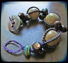 Lorelei's Blog: The Big Blog Event!  Bracelet from Bohemian Inspired Jewelry.  Think I may need that book.