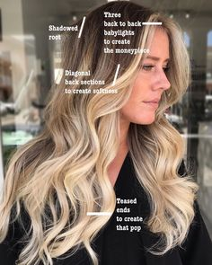 It's important to customize every clients placement depending on the desired results 🙌🏼 . I'm loving this bright face frame ♥️ . Ombre Hair, Balayage Hair, Haircolor, Bayalage, Hair Color Placement, Hair Foils, Balayage Technique, Hair Color Formulas, Look 2015