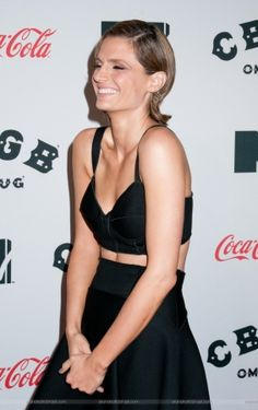 """#StanaKatic at the """"CBGB"""" New York premiere red carpet (2013)"""