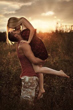 ♂ Couple together sunset kiss Field romance by Сергей Пончиков Couple Photography, Engagement Photography, Photography Poses, Wedding Photography, Couples Photography Sunset, Digital Photography, Engagement Couple, Engagement Shoots, Camo Engagement Pictures