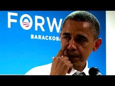 """Obama's Tearful """"Thank You"""" To Campaign Staff - YouTube"""