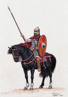 blackpen shop - Merovingian nobleman, V - VII century. Pict_med_002