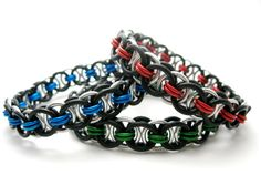 Helm Chain - Twisted Chain Designs #chainmaille