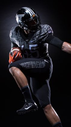 """Virginia Tech Hokies 2016 """"Battle at Bristol"""" alternative football uniforms, inspired by Hokie stone and the Corps of Cadets"""