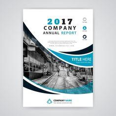 полезный годовой отчет 2017 Бесплатные векторы