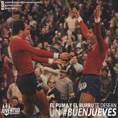 Buenos días diablos!! #BuenJueves #Burruchaga, #Morete, #Independiente, #IdolosIndependiente