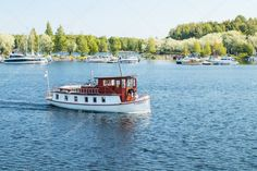 Lappeenranta, Finland - August Lappeenranta port with yachts and boats on a sunny summer day Yachts, Birds In Flight, Editorial Photography, Summer Days, Finland, Roots, Tourism, Mexico, Wallpapers