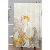 Found it at AllModern - Iveta Abolina Velvet Shower Curtain
