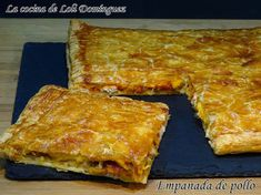 The cuisine of Loli Domínguez: chicken pie with puff pastry, super easy recipe Quiches, Pollo Chicken, No Cook Appetizers, Tacos And Burritos, Tasty Bites, Portuguese Recipes, Sweet And Salty, Mexican Food Recipes, Chicken Recipes