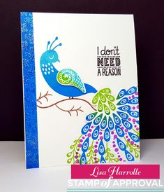 Hi everyone and welcome to day 3 of the Stamp of Approval  blog hop for the release of the brand new   The Perfect Reason Collection!  Go...
