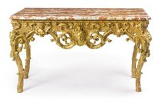 An early rococo carved giltwood console table probably South Germany, circa 1735 | Lot | Sotheby's