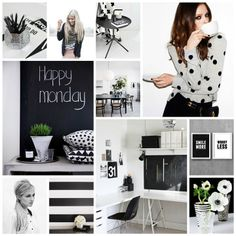 Moodboard Black & white