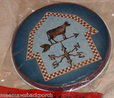 New Cow Calf Barn Wind Weather Vane Round STOVE Eye Range Cook Top BURNER COVERS Burner Covers, Weather Vanes, Stove, Cow, Decorative Plates, Barn, Range, Converted Barn, Cookers