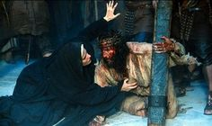 Jesus Christ: Forgive them, Father. Overtime The Passion of the Christ It may be graphic, bloody and . Catholic Memes, Catholic Art, Roman Catholic, Catholic Religion, Christ Movie, Jesus E Maria, Queen Of Heaven, Mama Mary, Blessed Mother Mary