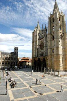 Catedral de León, nos la envía por Twitter nuestra amiga Yunemaica