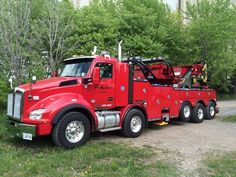St-Michel Towing, St-Michel QC, Kenworth Twin Steer w/ Century 1075 rotator Cool Trucks, Big Trucks, Car Hauler Trailer, Towing And Recovery, Kenworth Trucks, Tow Truck, Buses, Tractors, American