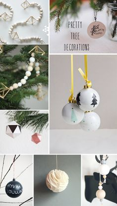 Christmas decoration, wrapping and DIY projects Christmas Events, Christmas Time Is Here, Christmas Makes, Little Christmas, Christmas Tree Decorations, Christmas Crafts, Christmas Ornaments, Christmas Inspiration, December