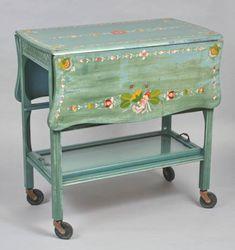 Tea wagon :: Wisconsin Decorative Arts Database