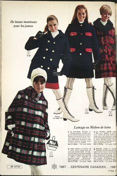 60s Fashion Trends, 1960s Fashion, Teen Fashion, Fashion Models, Vintage Fashion, Colleen Corby, Gypsy Look, Fashion Catalogue, Cardigan Fashion