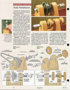 Tips fоr Using Woodturning Lathe Lathe Tools, Wood Tools, Wood Lathe, Woodworking Skills, Woodworking Workshop, Woodworking Projects, Homemade Lathe, Homemade Tools, Lathe Projects