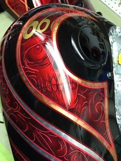 60 Ideas Motorcycle Custom Paint Jobs Sports For 2019 Custom Motorcycle Paint Jobs, Custom Paint Jobs, Tribal Paint, Motorcycle Hairstyles, New Motorcycles, Paint Stripes, Bobber Motorcycle, Air Brush Painting, Bikes For Sale