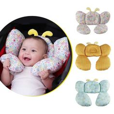 Bee Shape Cotton Baby Shaping Pillow Stroller Equipment U-shaped Neck Pillow Baby Infant Neck Care Accessories Decorative Pillow Dekorative Kissen Baby Design, Cute Baby Strollers, Baby Kids, Baby Baby, Kit Bebe, Baby Sewing Projects, Baby Pillows, Neck Pillow, Baby Crafts