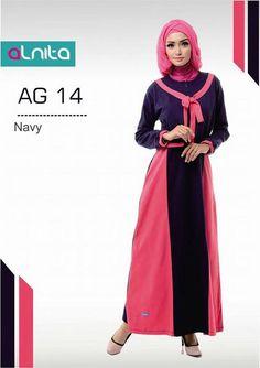 baju gamis wanita produk alnita collection. Belanja grosir baju muslim di  ZarifaHouse.com   3ed23ef66b
