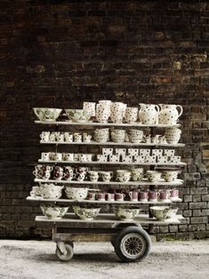 Emma Bridgewater Factory, Stoke-on-trent, England