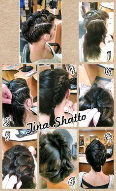 Tina_Shatto #festivalhair #hairtutorial #coachellahair #sexyahir #howto #DYI #Concerthair