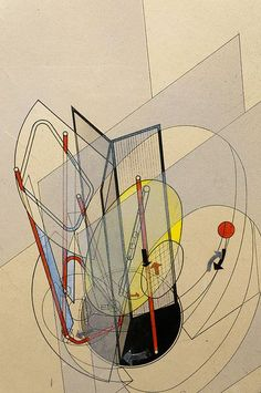 László Moholy-Nagy (1895-1946) was a Hungarian painter and photographer as well as professor in the Bauhaus school. He was highly influenced by constructivism and a strong advocate of the integration of technology and industry into the arts.