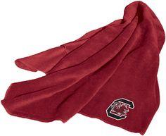 NCAA South Carolina Fleece Throw