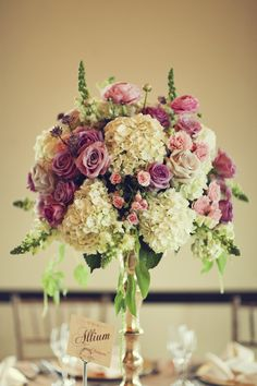 too much lavender, and instead of green droopy pieces, pink ones!