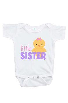 7 ate 9 Apparel Babys Little Sister Hanukkah Hoodie