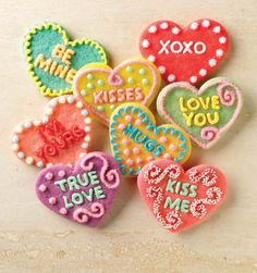 Conversation hearts cookie cutters http://rstyle.me/n/wk52znyg6