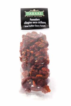 Sundried Sicilian Cherry Tomato in salt #tomato #sicily #siciliancuisine #cherrytomato #salt #condiment #pasta #bruschettas #sundried