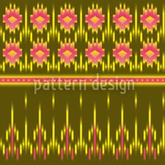 Multicultural Ikat created by Martina Stadler offered as a vector file on patterndesigns.com Pastel Colors, Bold Colors, Ethno Design, Lace Design, Surface Pattern Design, Gradient Color, Vector Pattern, Vector File, Ikat