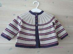 Knitting For Kids, Baby Knitting Patterns, Baby Patterns, Knitting Ideas, Crochet Baby, Knit Crochet, Knit Baby Sweaters, Knit Cardigan, Lana